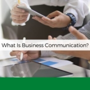 what is business communication anksimage