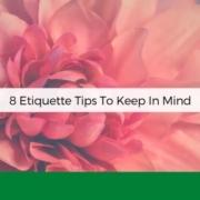 etiquette tips anksimage