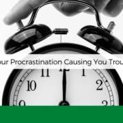 procrastination causing trouble anksimage